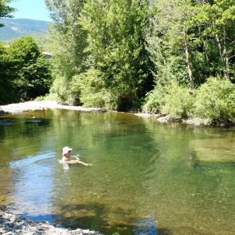 nager rivière
