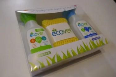 ベルギー産のエコ洗剤 エコベール キャンプで使う食器洗い洗剤に最適! 使い勝手の良いミニボトルもあるよ