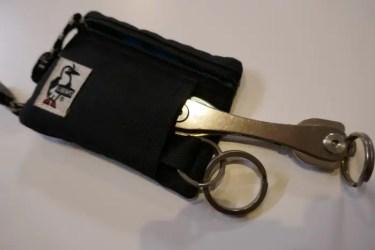 アウトドアやタウンで使うミニマルなスマート財布 チャムス エコ・キーコインケース ミニ財布10選