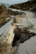 Langsam Fahren auf den Nebenstraßen in Albanien!