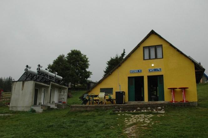 Camp Kod Boce Sanitärhaus