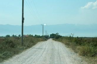 Offroad-Zufahrt
