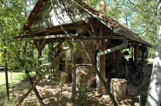 Originelle Sammlerhütte