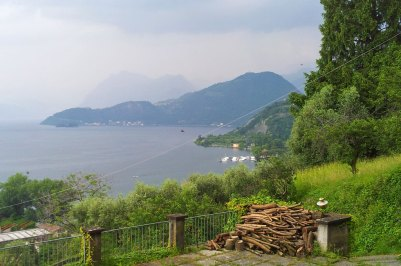 Iseosee mit Monte Isola