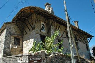 Typisches osmanisches Haus in Gjirokastra