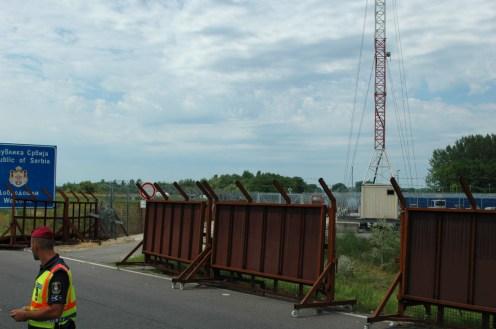 Rollbare Barrikaden