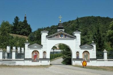 Kloster GRGETEG gehört zu den am meisten besuchten heiligen Plätzen in der ganzen Frusca Gora