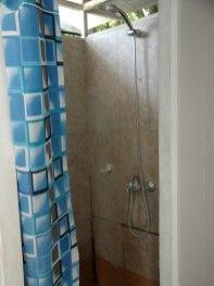 Duschen sauber und Warmwasser