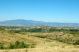 Landschaft in Süd-West Bulgarien