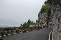 Mendelpass, beliebt bei Radfahrern