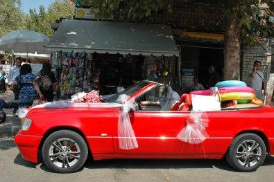 Hochzeitsauto in Shkodra