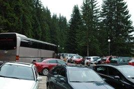 Parkplatz zum Eingang Nationalparkt