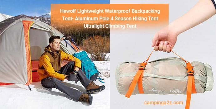 Hewolf Lightweight Backpacking Tent
