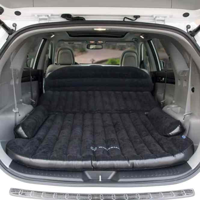 Winterial Suv Minivan Heavy Duty Backseat Car Inflatable Travel Mattress For Camping