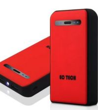 Portable battery - red