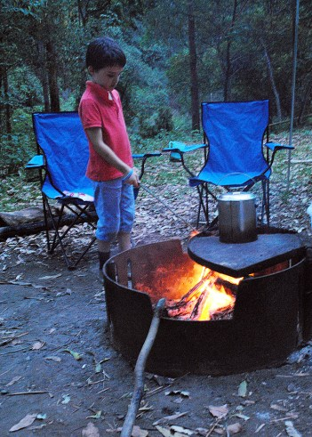 marshmallow roasting is more about the fun of playing with fire