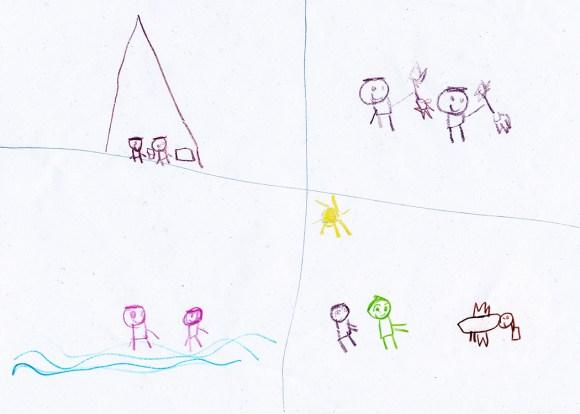 E's drawing