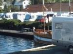 Ølen båtlag og havn samt bobilparkering