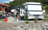 Bobilparken i Strømstad