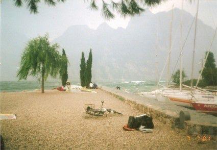 Bobil og campingplass Gardasjøen, Italia