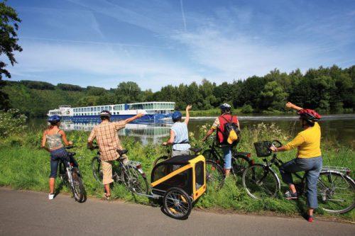 Bobil og sykkelferie i Tyskland