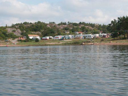 Rolige campingplasser i Sverige