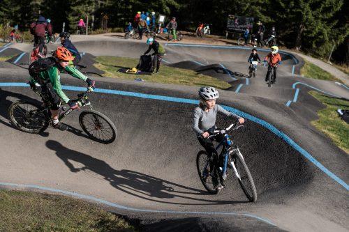 Ny sykkelbane for de minste