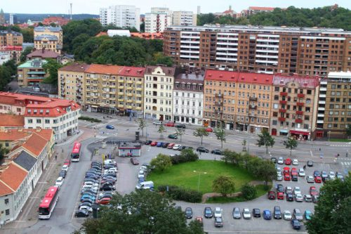 Bilinnbrudd i Gøteborg.