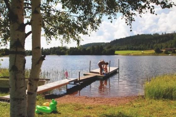 Deilig sommer i Sverige. Foto- Synöve Borlaug Dufva:imagebank.sweden.se