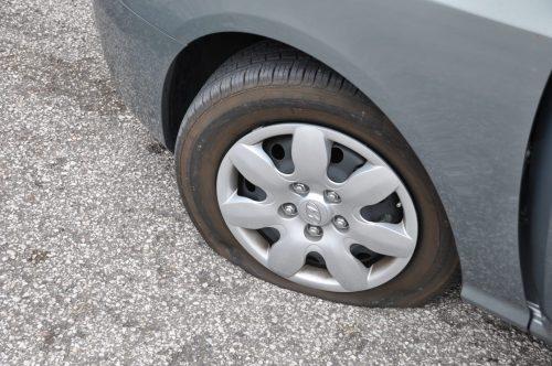 Har du punktert? Kun 3,2 prosent oppgir at de har punktert den siste måneden (foto Dekkmann)