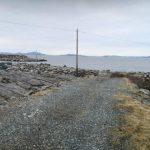 Fiskemuligheter ytterst på Moloen i Mortavika