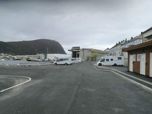 Bobilparkering i Ålesund