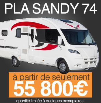 PLA Sandy 74 – Intégral lit central