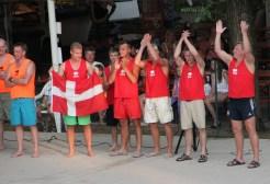 Danish team at watergames competitions Ca' Savio