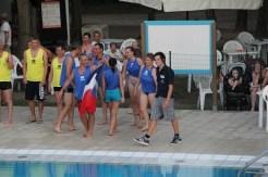 Italian team - water competitions at Camping Ca' Savio
