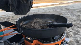Cooking when overlanding