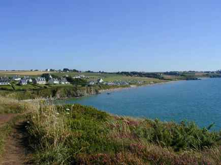 La plage de Kervel, plonevez-porzay
