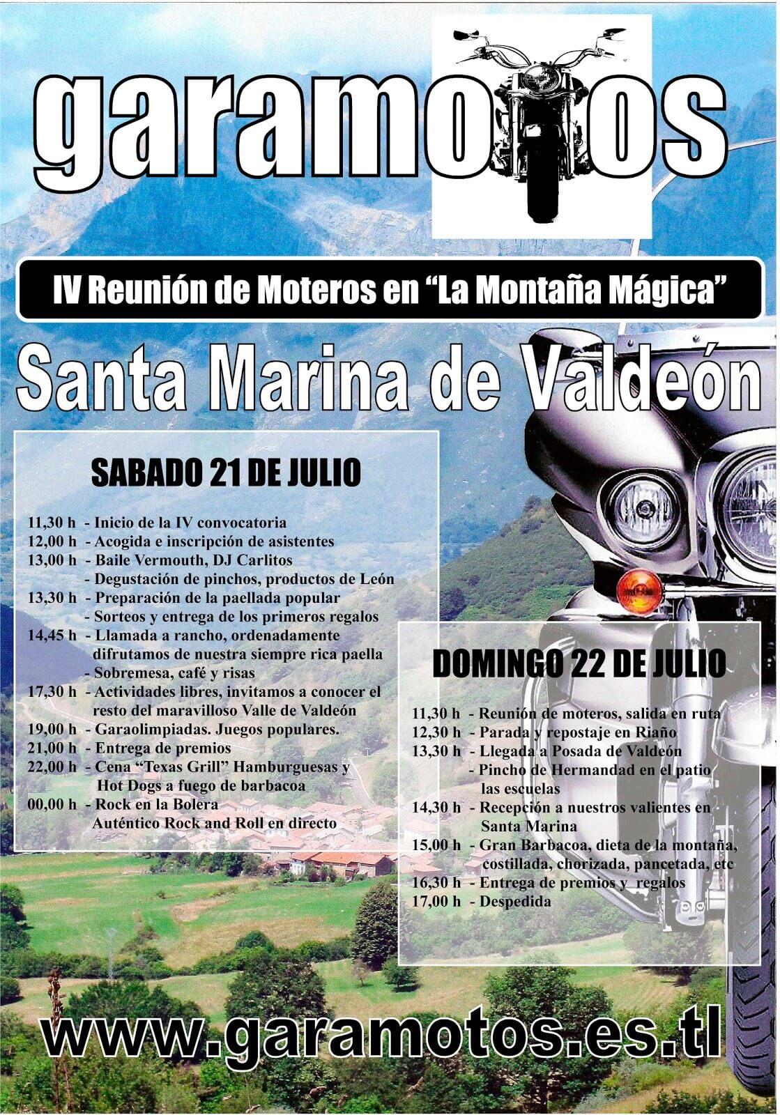 GARAMOTOS, La concentración de motos más alta de España!!