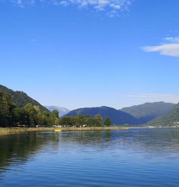 Seecamping Berghof am Ossiacher See in Kärnten