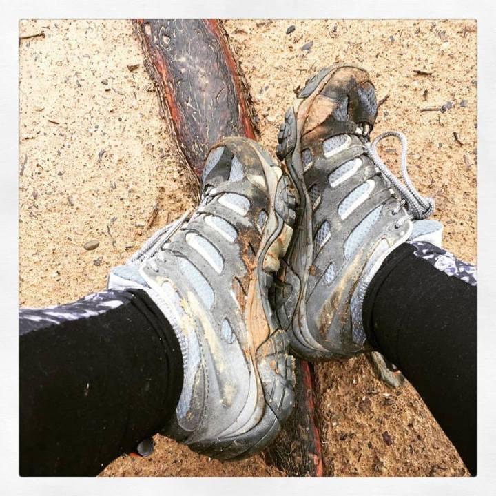Dear Natalie Walking on dirt really