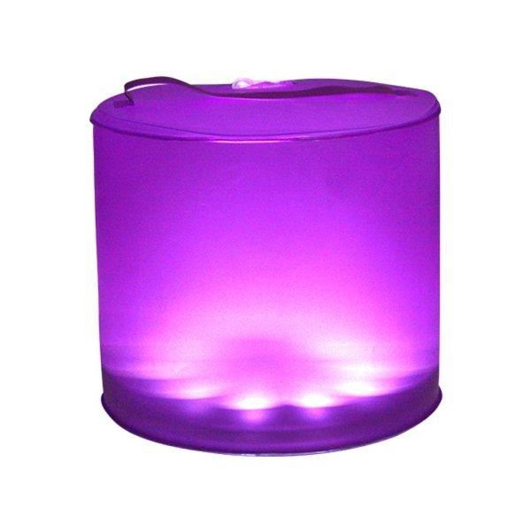 Solar-LED-Laterne - wasserdicht / faltbar - 16 Farben