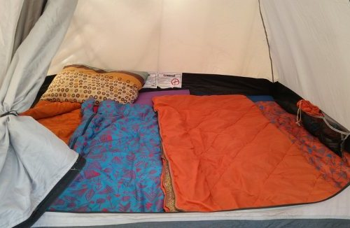 Image of the best sleeping pad for side sleepers