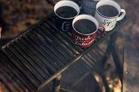 Image of how to make coffee while backpacking