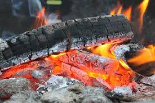 Image of camping fire