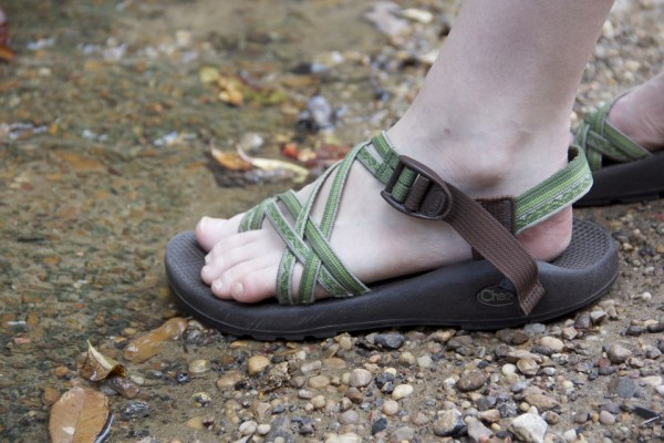 Image of women's most comfortable walking sandals