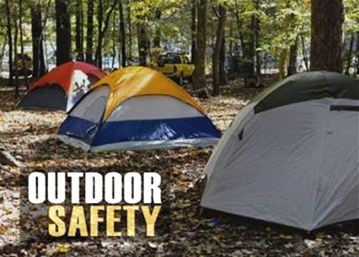 Image of camping safety