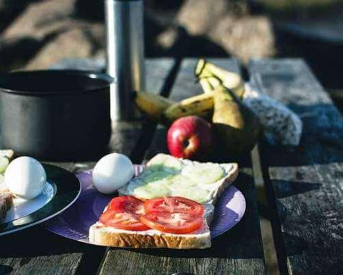Image of food to take camping no cooking