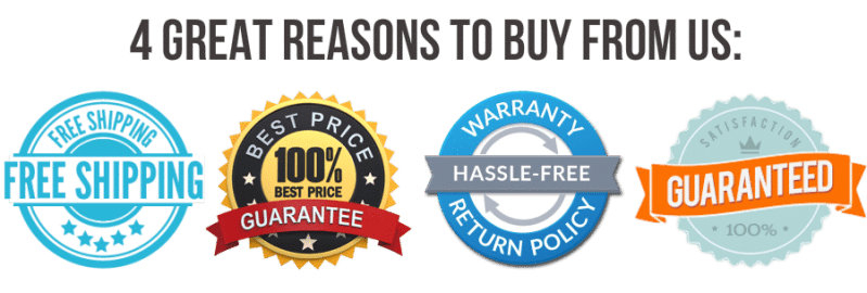 four reasons to buy with us