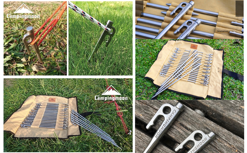 tent stakes