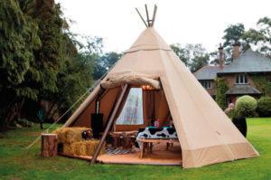 Camp Cardiff Luxury Tipi Accommodation - UEFA Champions League Final